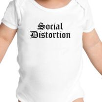 bfd19c259 Social Distortion Baby Onesies   Customon.com