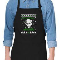 Larry David Pretty Good Christmas Ugly Sweater Apron Customoncom
