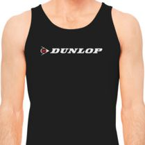 57c4838ce9741 Dunlop Logo Men s Tank Top