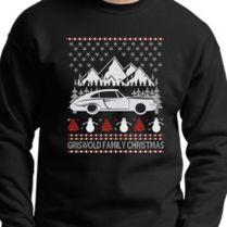 Larry David Pretty Good Christmas Ugly Sweater Crewneck Sweatshirt