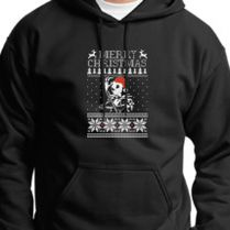 Jack Skellington Ugly Christmas Sweater Unisex Hoodie Customoncom