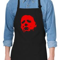Halloween Michael Myers And Jason Voorhees Apron Customon Com
