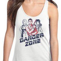 32b7a291f21c7 DANGER MOUSE Women s Racerback Tank Top