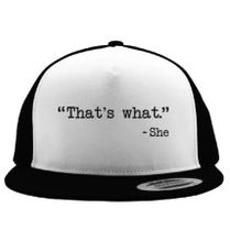 b5225a15343 Nevertheless She Persisted Trucker Hat (Embroidered)