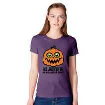 644cd3ddb All Jacked Up on Halloween Candy Jack-O'-Lantern Baby Onesies - Customon