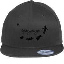 Never Grow Up Peter Pan New Era Snapback Cap (Embroidered) - Customon.com 5c58316ae3a9