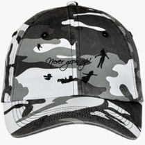 Never Grow Up Peter Pan Camouflage Cotton Twill Cap (Embroidered) -  Customon.com 4cc3f8259b0d