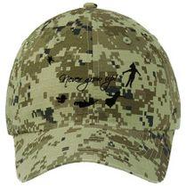 Never Grow Up Peter Pan Ripstop Camouflage Cotton Twill Cap (Embroidered) -  Customon.com b7cbec616c00