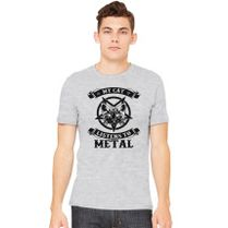 My Cat Listens to Metal Mens pour des Hommes Tank Top Shirt