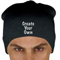 Create Your Own Knit Beanie (Embroidered)  980fcb10e76