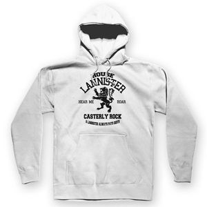 House Lannister Unisex Hoodie White / S
