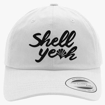 05c1eecf527 Shell Yeah Cotton Twill Hat (Embroidered) - Customon.com