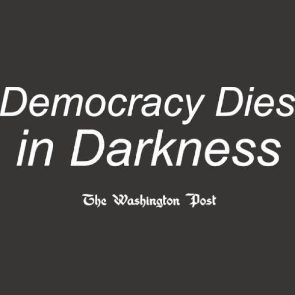 Democracy Dies in Darkness iPhone X - Customon