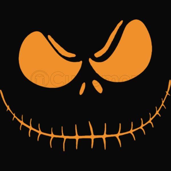 Halloween Face Baseball T Shirt Customon