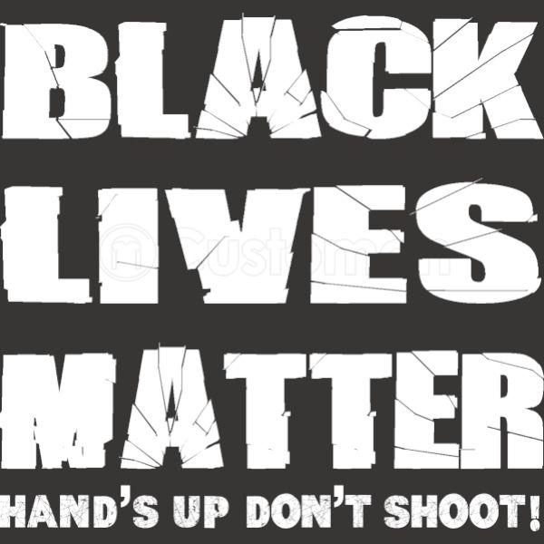 Black Lives Matter Hands Up Dont Shoot W Apron Customon