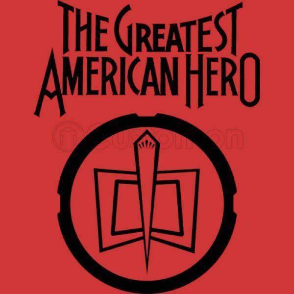 The Greatest American Hero Vintage Symbol Toddler T Shirt Customon