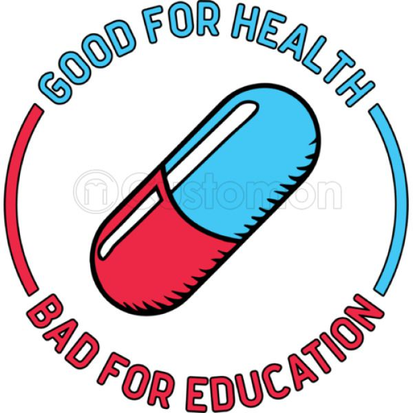 Akira Kaneda Capsule Jacket Good For Health Bad For Education Thong Customon
