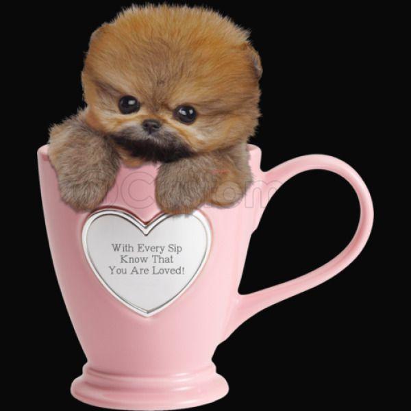 Teacup Pomsky Valentine iPhone X - Customon