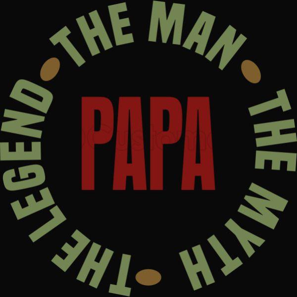 71d946778b57 Papa Man Myth Legend Apron - Customon