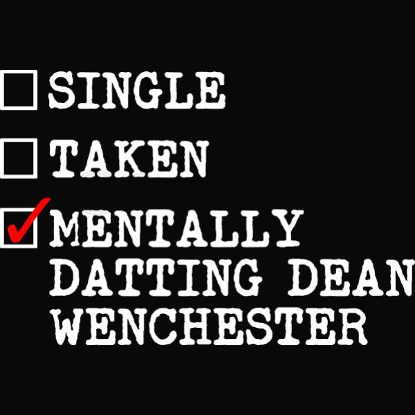 Mentalt dating Dean Winchester Hettegenser