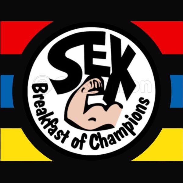 e6e48a1622f5 Sex Breakfast of Champions iPhone 6/6S Plus Case - Customon