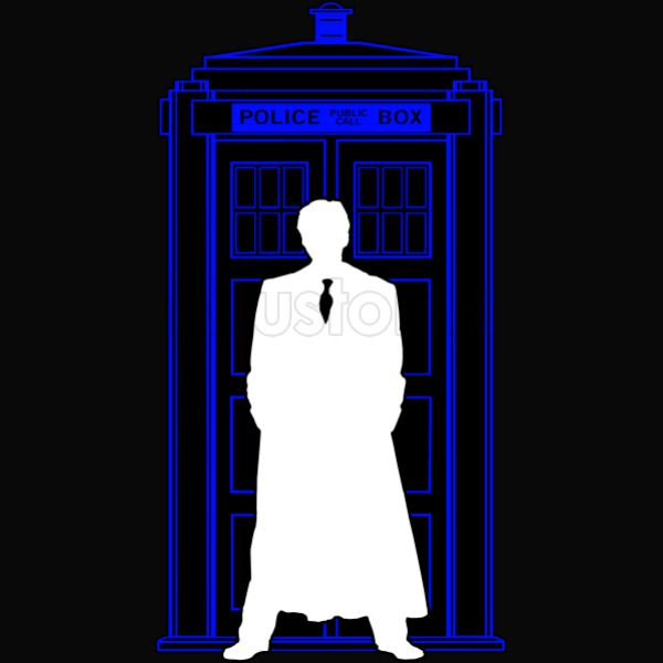 Dr Who Tardis Darkness iphone case