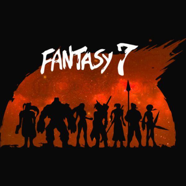 Final Fantasy 7 Samurai 7 Style Men S T Shirt Customon