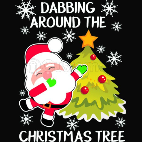 47a74365d Xmas Dabbing Around The Christmas Tree iPhone 6/6S Case - Customon