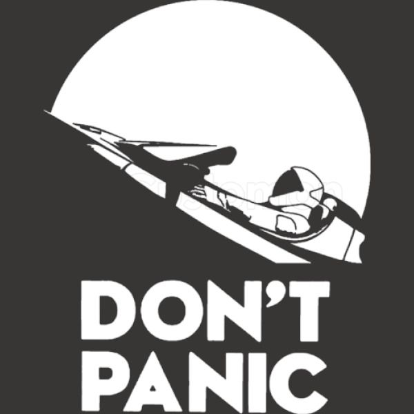 3c283a73ea0 Don t Panic Star Man Youth T-shirt - Customon