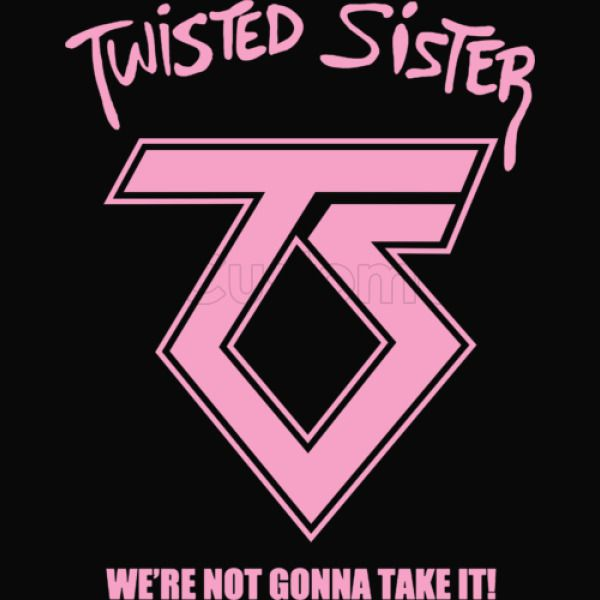 Twisted Sister We are Not Gonna Take It ! Baby Bib - Customon
