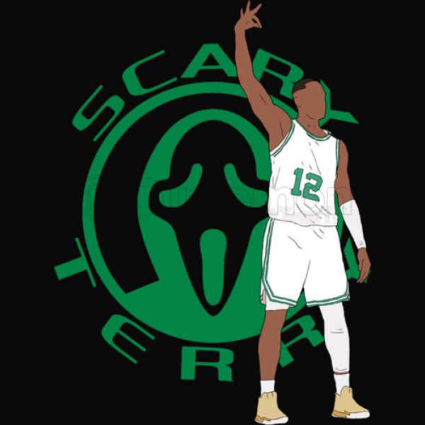 buy popular bb603 46201 Scary Terry Rozier Youth T-shirt - Customon