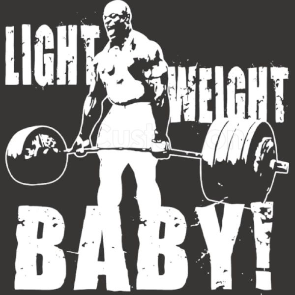 a5bc97a6ecde6 Light Weight Baby! Ronnie Coleman iPhone 6 6S Case - Customon
