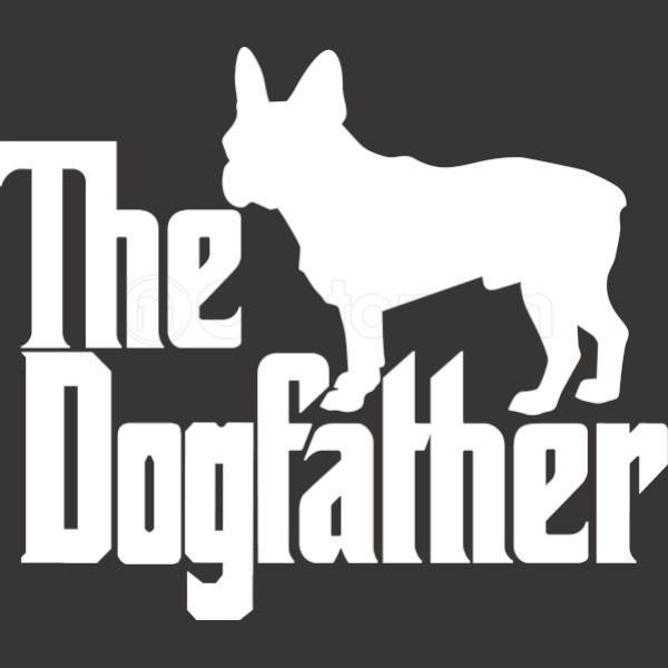 91e6a065b9a The Dogfather French Bulldog Baby Onesies - Customon