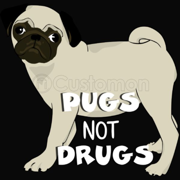 711e067eaa0e new trending tees Pugs Not Drugs funny t-shirt Men's Tank Top - Customon