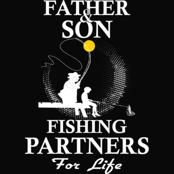 40e51122 Father And Son Fishing Partners For Life Men's Tank Top - Customon