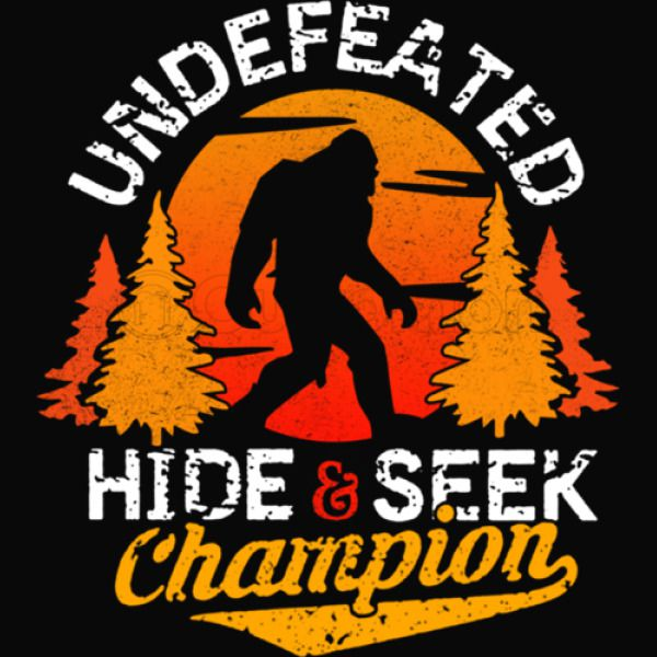 cbe25edeff66 Bigfoot Hide and Seek Champion Of The World Women's V-Neck T-shirt ...