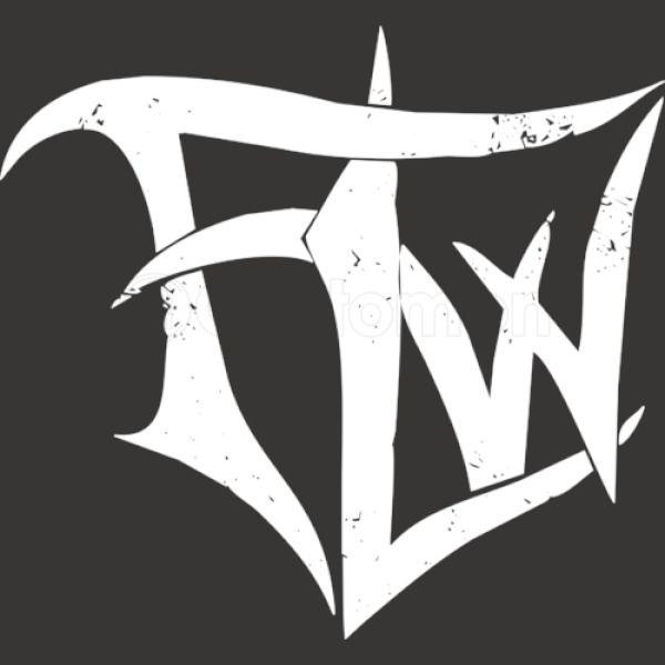 famous last words logo Apron - Customon