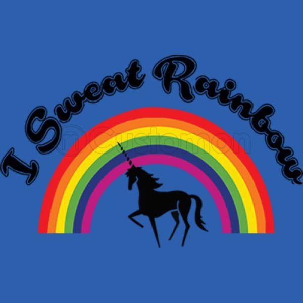 8b0bdcd06017ef I Sweat Rainbow Unicorn Men s T-shirt - Customon