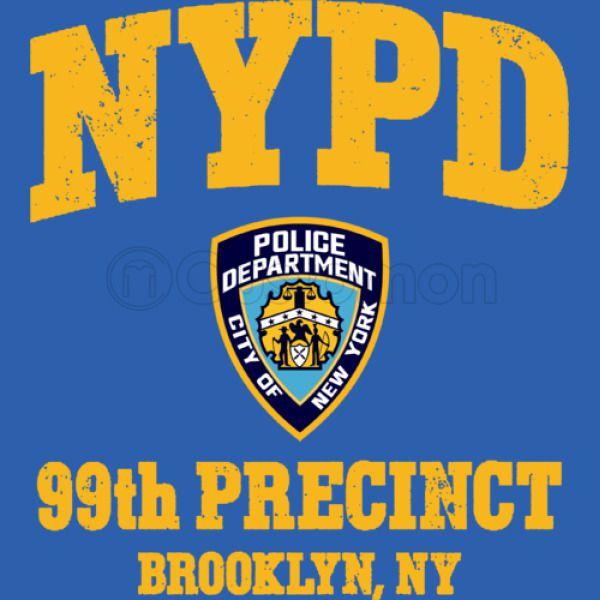 eb0a6e70e 99th Precinct - Brooklyn NY Unisex Zip-Up Hoodie - Customon