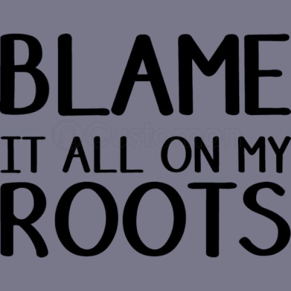 abff00013 Blame it all on my roots New Era Baseball Mesh Cap (Embroidered ...