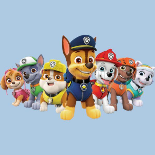 Paw Patrol Dogs Toddler T Shirt Customon