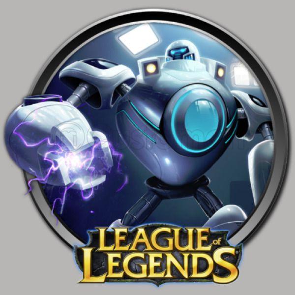 153dbb2ad970 LoL League of Legends Blitzcrank Travel Mug - Customon