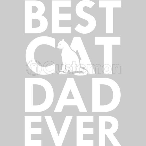 7050d4f7 Best Cat Dad Ever V-Neck T-shirt - Customon