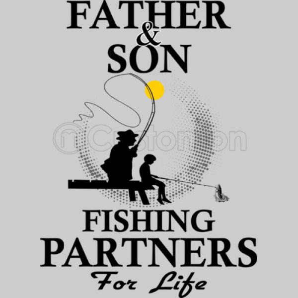 7b686021 Father And Son Fishing Partners For Life Unisex Zip-Up Hoodie - Customon