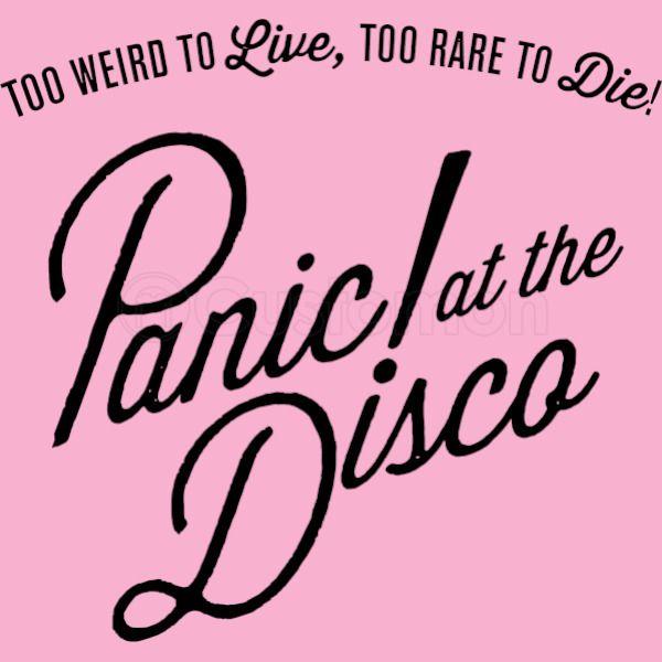 8ea410eefbbb7b panic at the disco logo Women s Racerback Tank Top - Customon