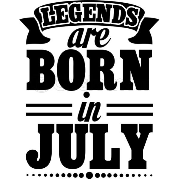 bc238cd1e Legends Are Born in July Women's T-shirt - Customon