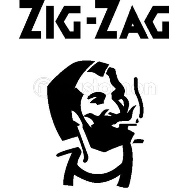 Zig Zag Man Vintage Logo iphone case