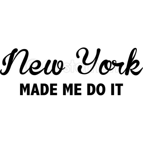 New York Made Me Do It Bucket Hat (Embroidered) - Customon