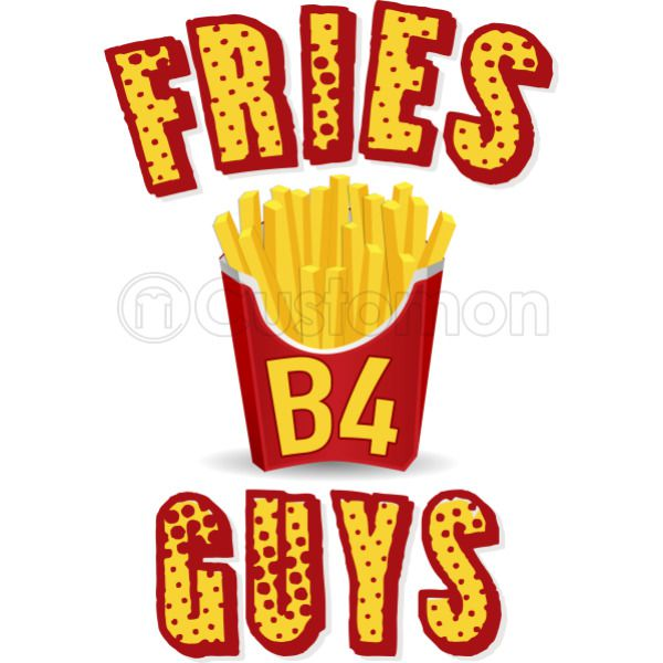 60b21890e450b Fries before guys Women s Racerback Tank Top - Customon