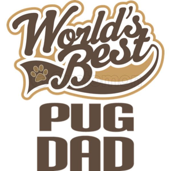 98518a6d Pug Dad Women's T-shirt - Customon